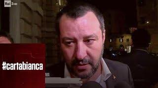 Matteo Salvini sull'arresto di Cesare Battisti - #cartabianca 15/01/2019