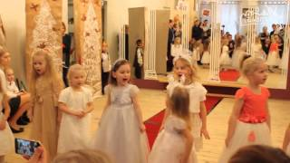 Новогодний мюзикл Золушка в детском саду Талантвилль ЖК Татьяна