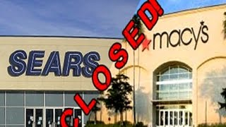 Obama's True Legacy: Sears and Macy's among other big names closing over 200 stores!!!