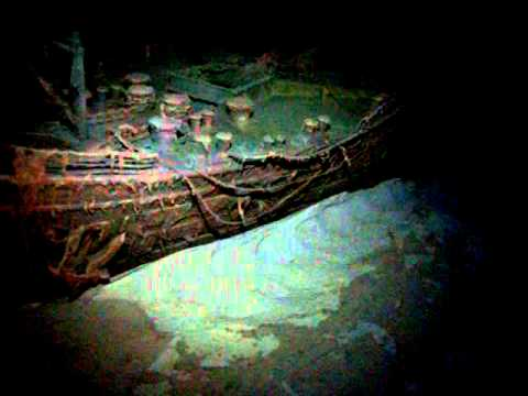 Titanic Bow Wreck A Close Look Youtube