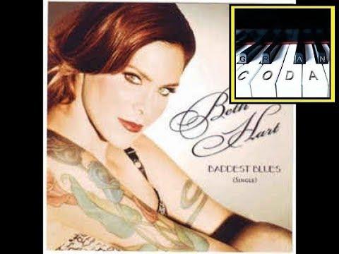 Baddest blues - Beth Hart partitura piano pdf
