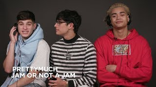 PRETTYMUCH plays Jam or Not a Jam