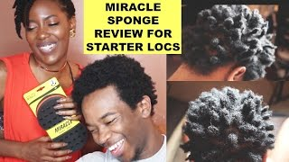 How To Use The Curl Twist Sponge | Does It Work?!  Demo/Review for Starter Locs
