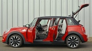 New Mini 5 Door INTERIOR 2015 Walkaround In Detail New Mini Cooper SD 5 Door Video CARJAM TV 2014