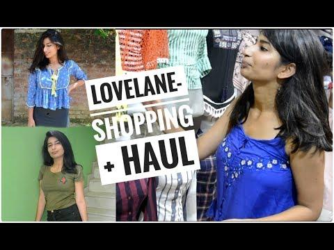 Lovelane Shopping + Haul 👗👟    Lucknow Street Shopping     Isheeta