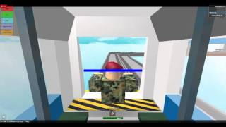 Driving LRT SMRT train at roblox part 1