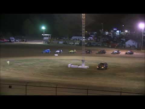 Sprint Car A main at Lincoln Park Speedway 9 23 17