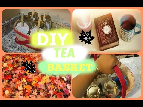 DIY TEA BASKET!