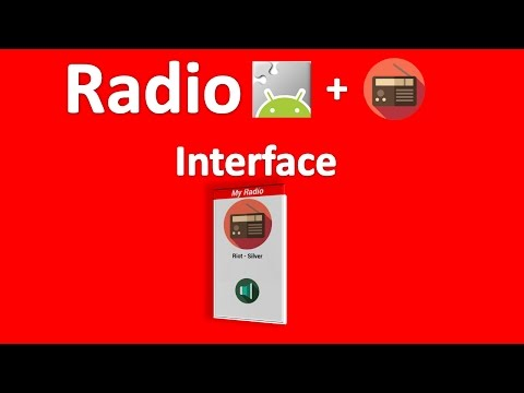 Radio App Inventor 2 Pt1 Interface de Usuario
