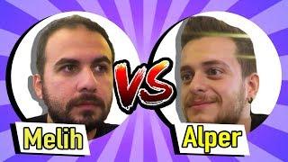 Gülmeme Kapışması - Alper VS. Melih