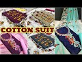 Cotton Embroidery Salwar Suit || Single piece Available ll  www.prititrendz.com
