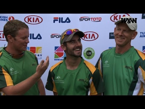 Australia: The short, the tall and the... world champion - Shanghai 2014 Flash Interview
