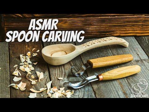 ASMR Wood Carving – No Talking ASMR Relaxation