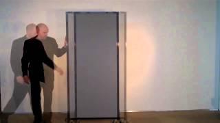Versare Afford A Wall Telescoping Portable Partition
