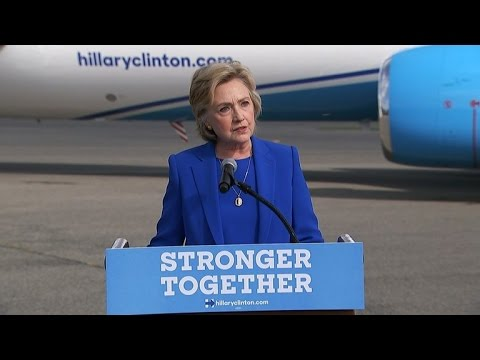 Clinton Calls Trump Unfit To Be President At First Press Conference In 278 Days