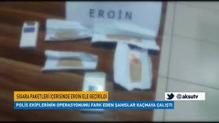 Sigara Paketleri İçerisinde Eroin Ele Geçirildi