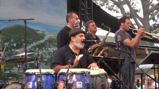 Poncho Sanchez  -  Laguna Beach Festival of the arts 7/27/13