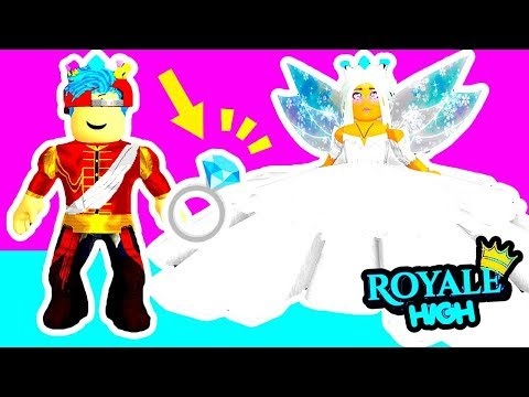 👑💍I HAVE TO MARRY THE PRINCE?!👰💒 Royale High | Royal High School | Roblox Roleplay