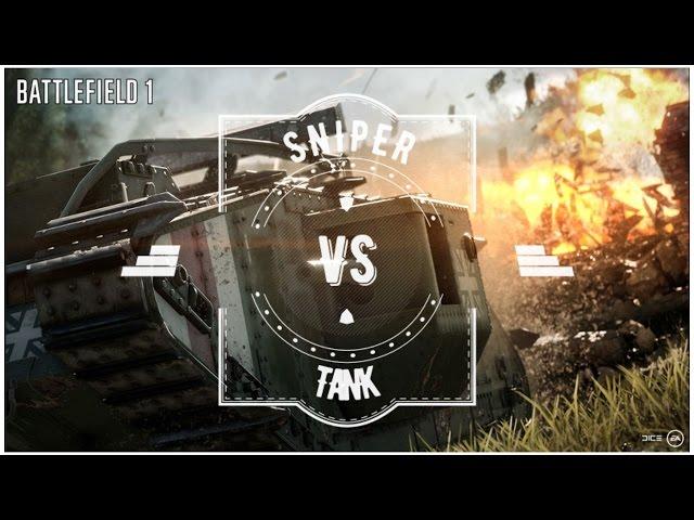 Sniper vs Tank