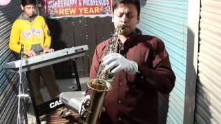 do lafzo ki hai dil ki kahani,saxophone