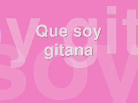 Shakira Gitana with Lyrics