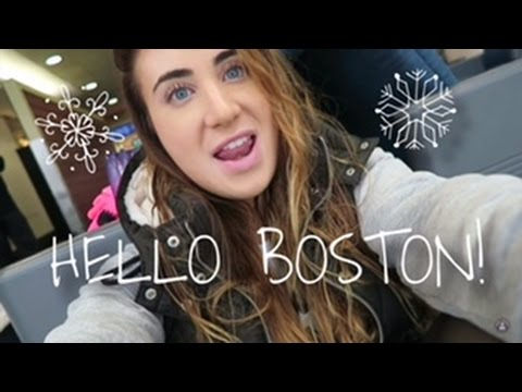 Hello Boston || Vlogmas Day 4