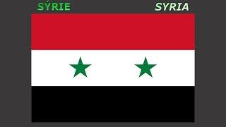 Flags of Arab states - Vlajky Arabských států