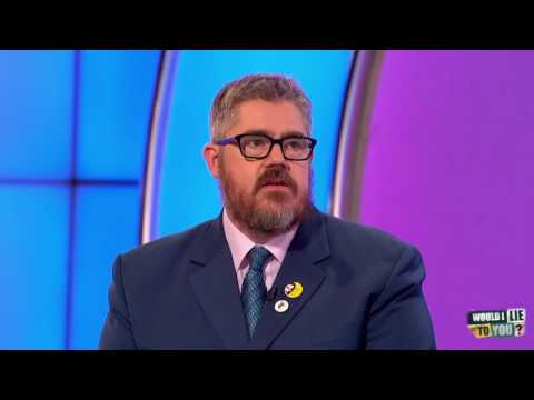 Phill Jupitus addicted to rescuing loose trolleys? - Would I Lie to You?