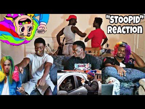 6IX9INE - STOOPID FT. BOBBY SHMURDA (REACTION VIDEO)
