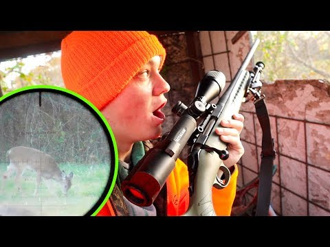THE HUNT FOR BUCKY! - Rifle Deer Season 2019
