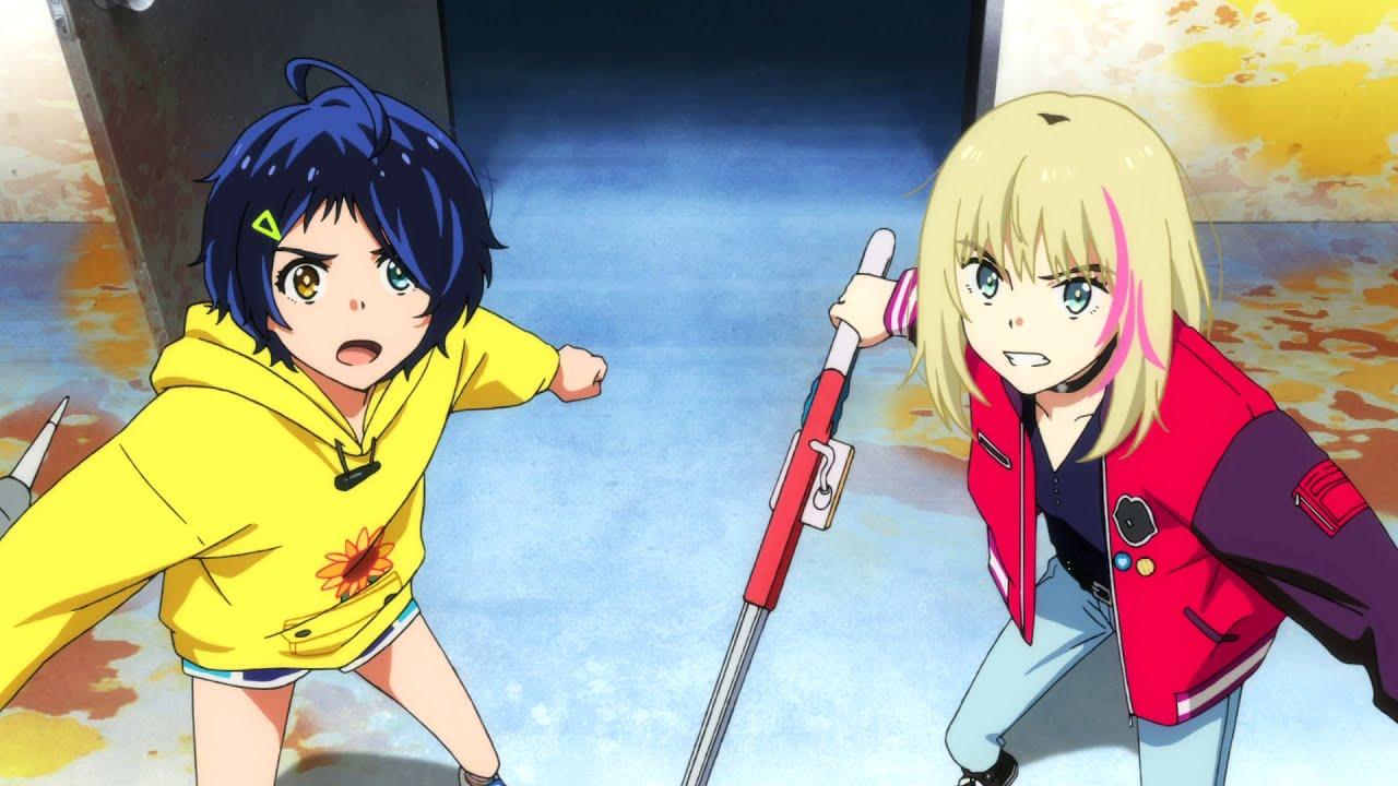 Wonder Egg Priority - Fight with stalking lady (Sachiko the Asagaya) -  YouTube