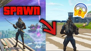 'Glitch' Go On Departure Island From Fortnite Battle Royale