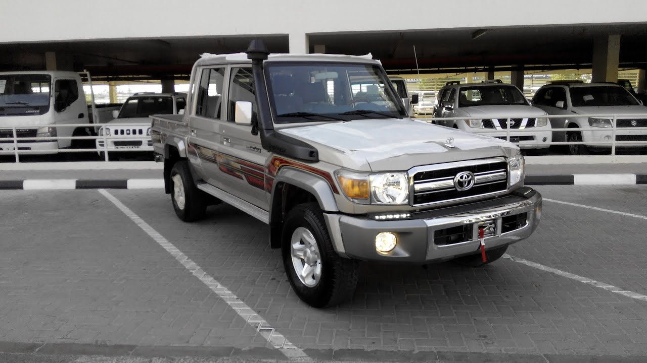 Turbo Toyota Land Cruiser Pickup Diesel 2015 In Dubai