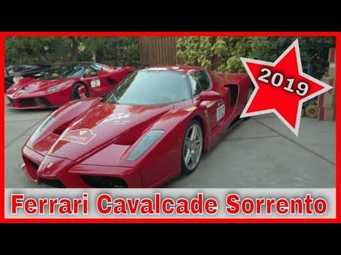 2019 Ferrari Cavalcade At The Grand Hotel Excelsior Vittoria | La Ferrari