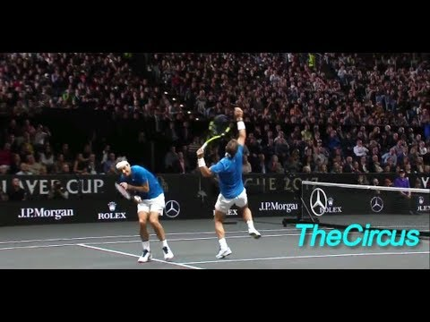 Laver Cup 2017 Funny Moments with Federer, Nadal, Sock, Querrey.