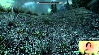 Skyrim Flying Horse and Stretchy Limbs Glitch