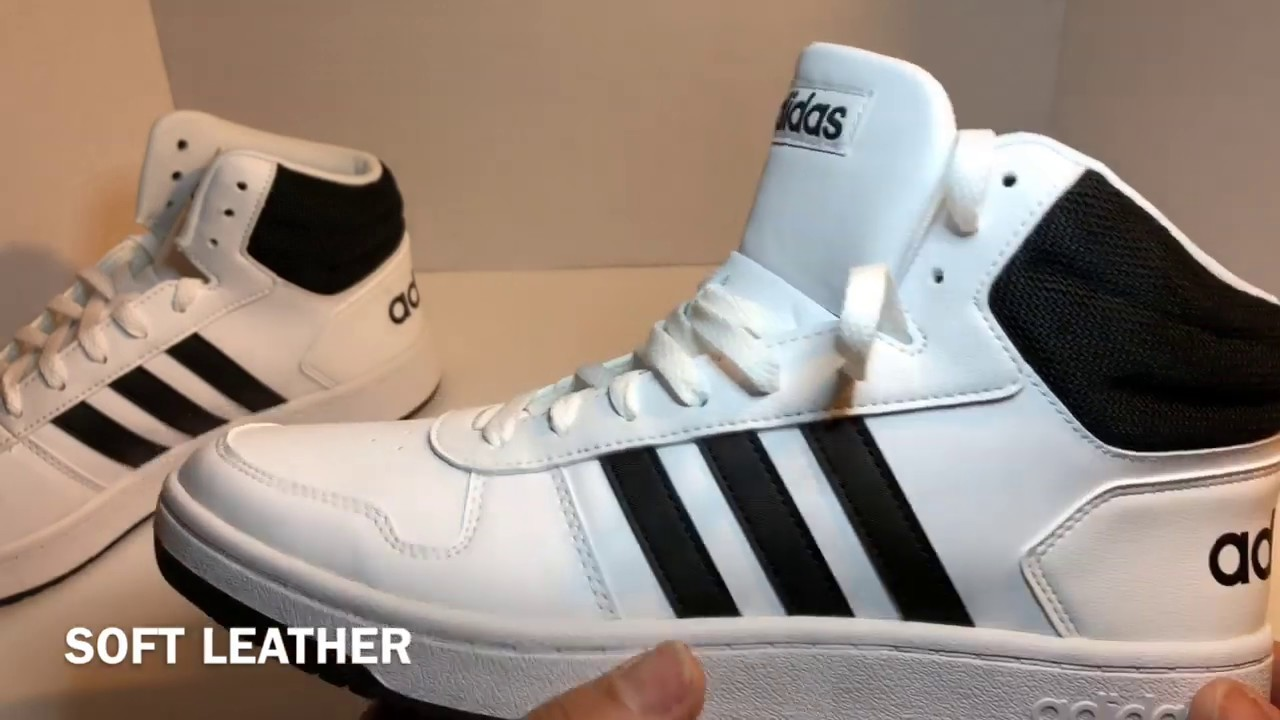 Adidas Hoops 2.0 MID Sneakers unboxing,review and sale price.