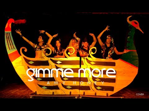 Gimme More Live (Glam Pop Concert Cover) Amy Honey and The Roses