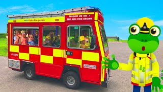 Gecko And The Mini Fire Truck | Gecko's Real Vehicles | Fire Trucks For Kids | Educational Videos