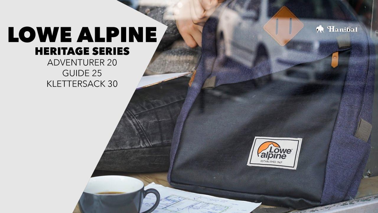 109a4c5dc2e Představení Lowe Alpine Heritage series | Hanibal.cz - YouTube