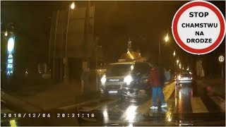Policja prawie potrąciła pieszych na przejściu #169 Wasze Filmy