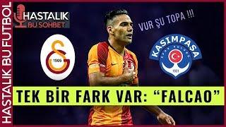 Galatasaray - Kasımpaşa  TEK FARKLI GALİBİYET VE TEK FARK, FALCAO