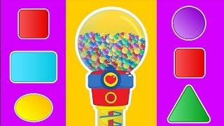 Aprende FORMAS Y COLORES con los Caramelos de Plim Plim #01 | A Jugar