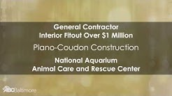 Project of the Year - Plano-Coudon National Aquarium Animal Care and Rescue Center