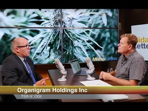Organigram Holdings Inc (CVE:OGI) Lowest Cash Cost per Gram in Sector