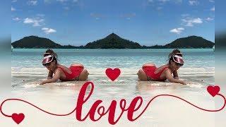 Бузова устроила фотосессию на Сейшелах в красивом купальнике для себя любимой