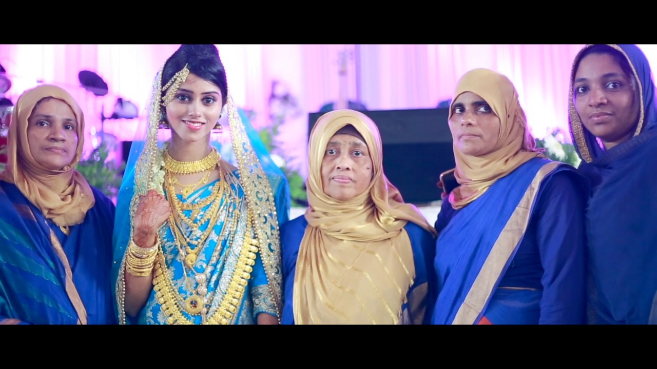Kerala Mappila Muslim Wedding Highlights Maju Muhsi