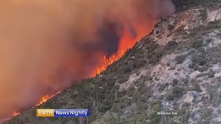 Wildfires continue to burn throughout Western US | EWTN News Nightly