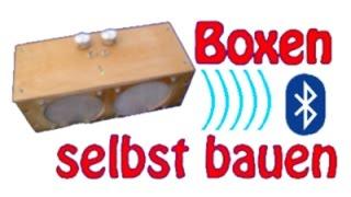[How2]Mobile Lautsprecher selber bauen (aus Restmaterialien - günstig - laut )