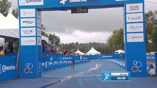 2015 ITU World Triathlon Series Edmonton - Elite Women